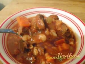 Beef Barley Stew 3