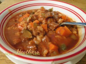 Beef Barley Stew 4