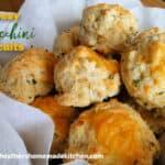 Cheesy Zucchini Biscuits