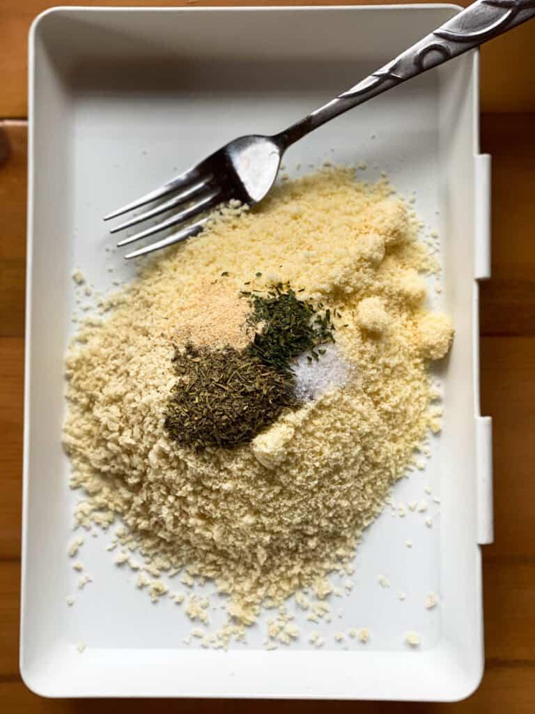 chicken breading ingredients.